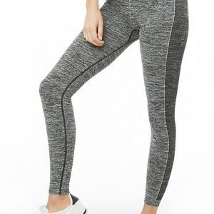 NEW High Waisted Active Seamless Space Leggings